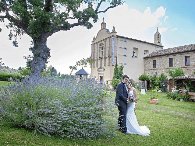 Il matrimonio di Davide e Serena a Castignano, Ascoli Piceno 54