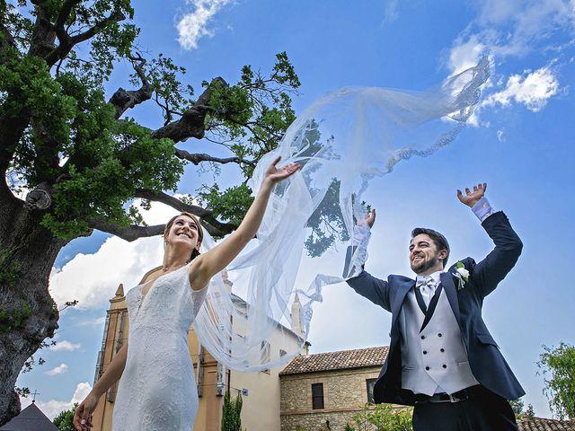 Il matrimonio di Davide e Serena a Castignano, Ascoli Piceno 55