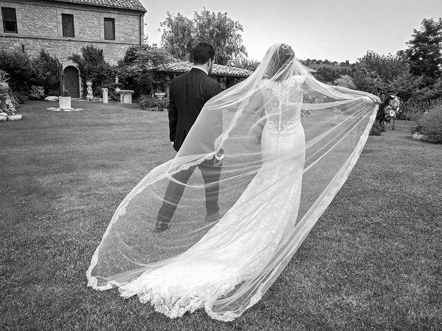 Il matrimonio di Davide e Serena a Castignano, Ascoli Piceno 57