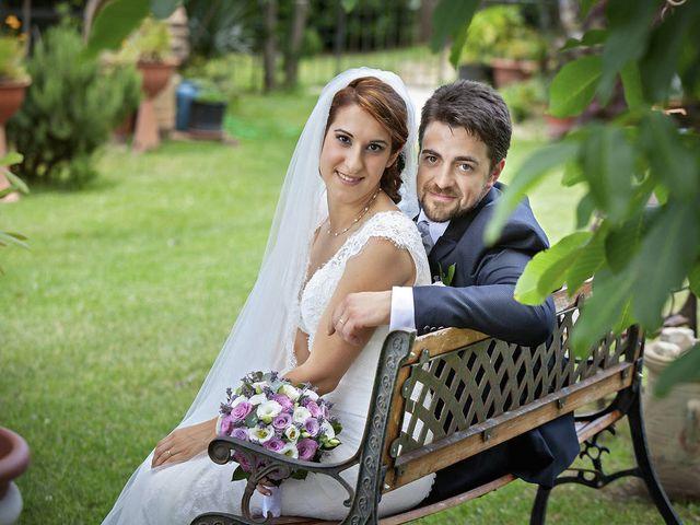 Il matrimonio di Davide e Serena a Castignano, Ascoli Piceno 58