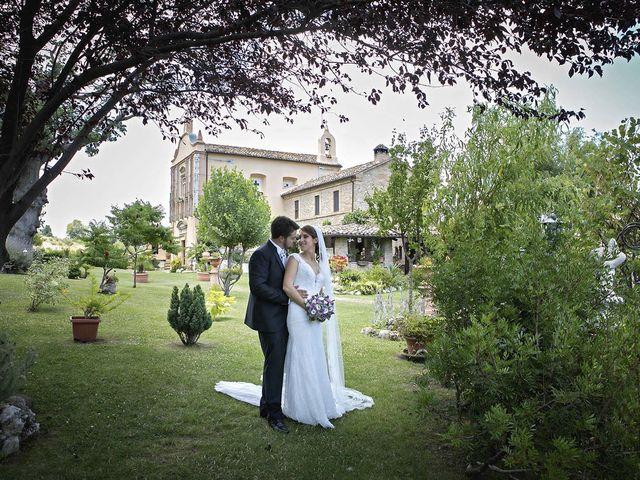 Il matrimonio di Davide e Serena a Castignano, Ascoli Piceno 59