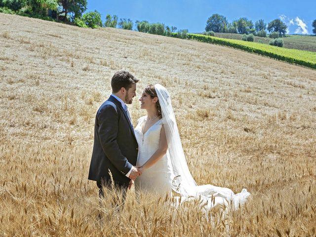 Il matrimonio di Davide e Serena a Castignano, Ascoli Piceno 62
