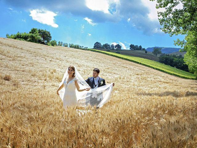 Il matrimonio di Davide e Serena a Castignano, Ascoli Piceno 63