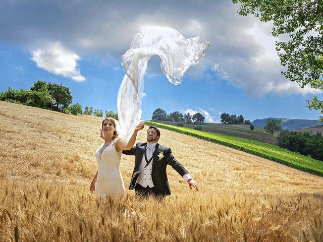 Il matrimonio di Davide e Serena a Castignano, Ascoli Piceno 64