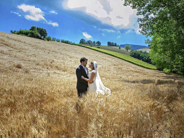 Il matrimonio di Davide e Serena a Castignano, Ascoli Piceno 65