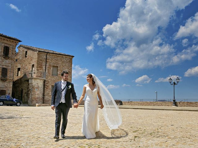 Il matrimonio di Davide e Serena a Castignano, Ascoli Piceno 66