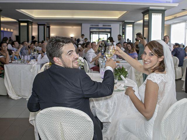 Il matrimonio di Davide e Serena a Castignano, Ascoli Piceno 69