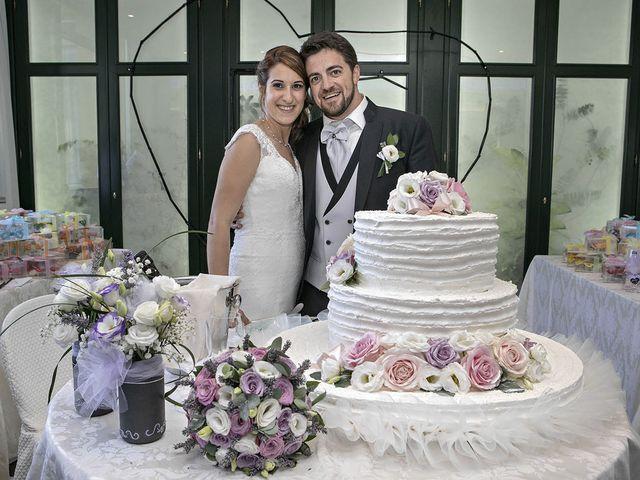 Il matrimonio di Davide e Serena a Castignano, Ascoli Piceno 73