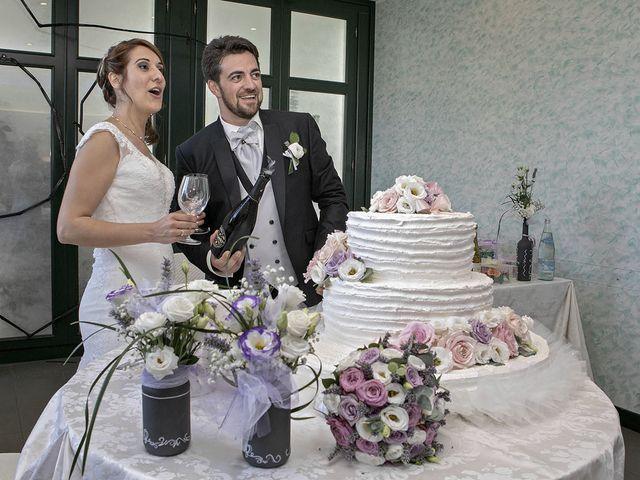Il matrimonio di Davide e Serena a Castignano, Ascoli Piceno 74