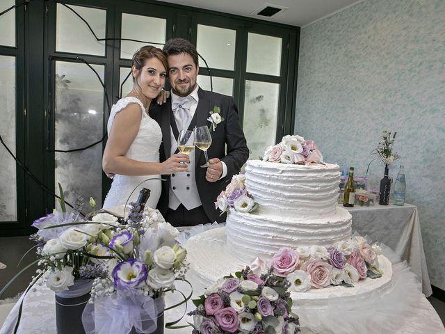Il matrimonio di Davide e Serena a Castignano, Ascoli Piceno 75