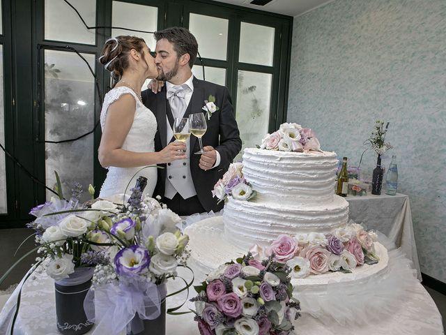 Il matrimonio di Davide e Serena a Castignano, Ascoli Piceno 76
