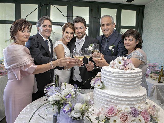 Il matrimonio di Davide e Serena a Castignano, Ascoli Piceno 77