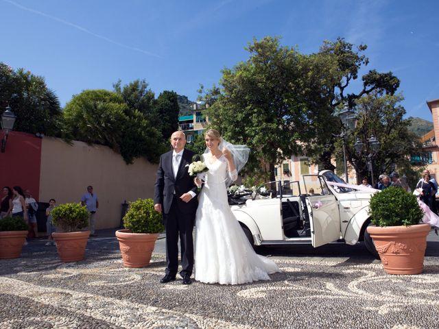 Il matrimonio di Federica e Riccardo a Bogliasco, Genova 17