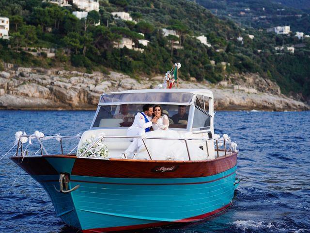 Il matrimonio di Ruggiero e Anna a Sorrento, Napoli 55