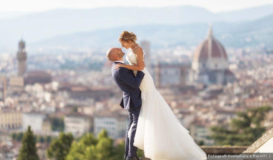 Il matrimonio di Leonardo e Caterina a Carmignano, Prato