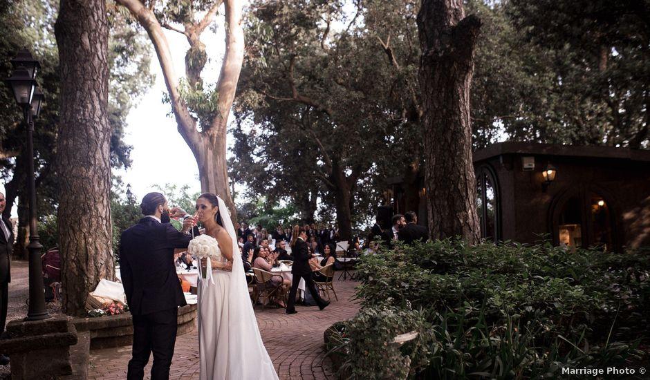 Il matrimonio di Corinne e Alessandro a Sorrento, Napoli