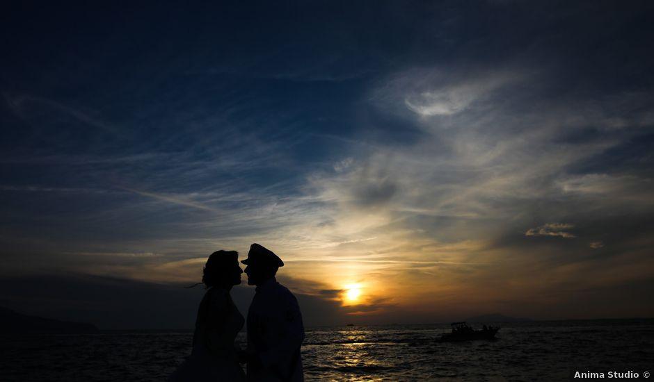 Il matrimonio di Ruggiero e Anna a Sorrento, Napoli