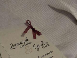 Le nozze di Giulia e Leonardo 1