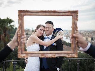 Le nozze di Erica e Takaharu