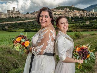 Le nozze di Romina e Mariangela