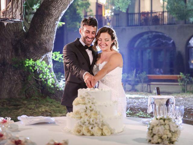 le nozze di Marta e Pino