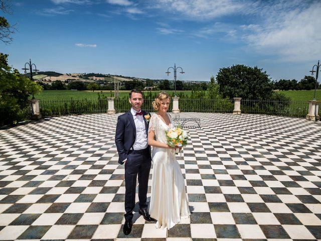 Il matrimonio di Manuel e Francesca a Staffolo, Ancona 30