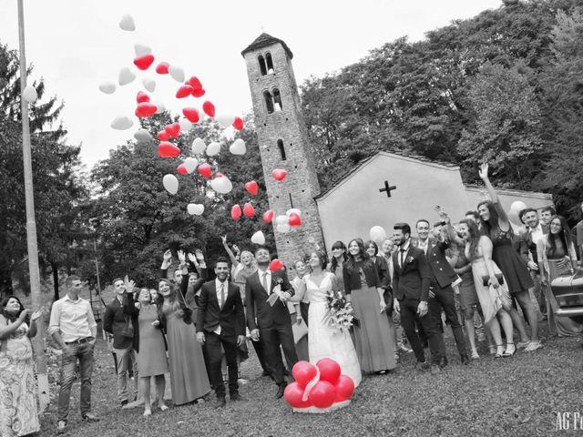 Il matrimonio di Sheyla e Andrea  a Porlezza, Como 7