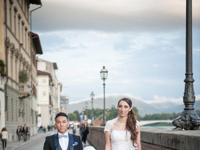Il matrimonio di Takaharu e Erica a Firenze, Firenze 10