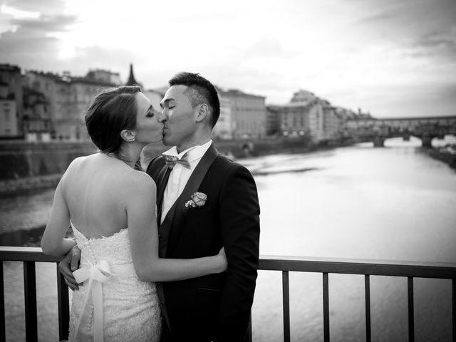 Il matrimonio di Takaharu e Erica a Firenze, Firenze 11