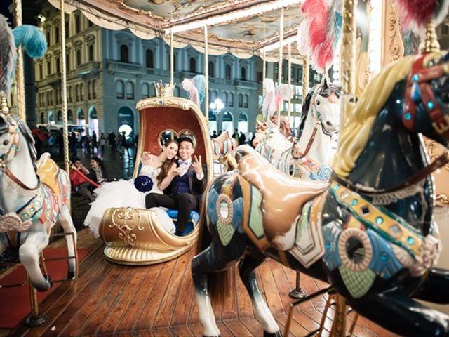 Il matrimonio di Takaharu e Erica a Firenze, Firenze 16