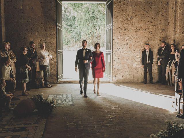 Il matrimonio di Marco e Marie a Castel Sant'Elia, Viterbo 12