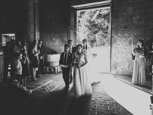 Il matrimonio di Marco e Marie a Castel Sant'Elia, Viterbo 14
