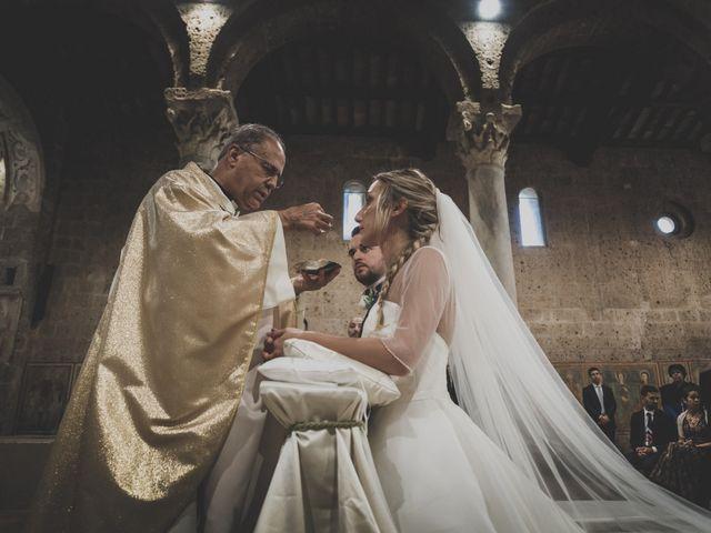 Il matrimonio di Marco e Marie a Castel Sant'Elia, Viterbo 16