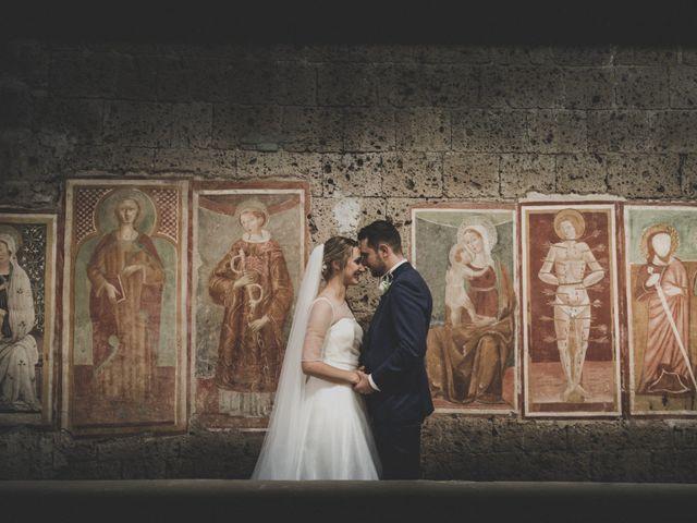 Il matrimonio di Marco e Marie a Castel Sant'Elia, Viterbo 17
