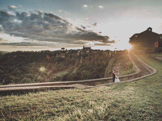 Il matrimonio di Marco e Marie a Castel Sant'Elia, Viterbo 22