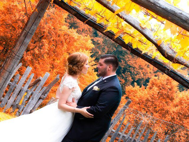 le nozze di Greta e Kewin