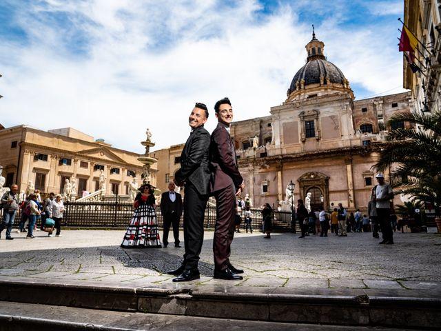 Le nozze di Rosario e Marcello