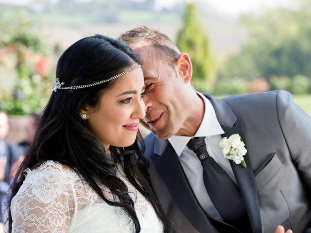 le nozze di Imane e Andrea