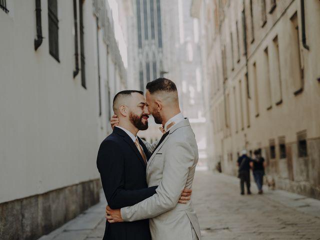 Il matrimonio di Salvatore e Gabriele a Milano, Milano 15