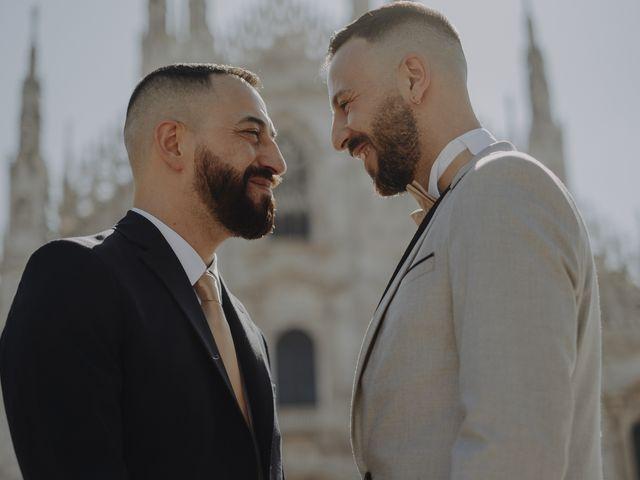 Le nozze di Gabriele e Salvatore