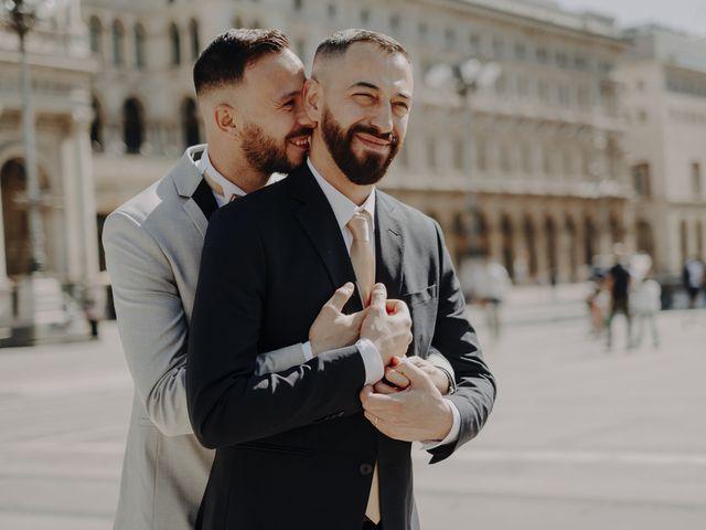Il matrimonio di Salvatore e Gabriele a Milano, Milano 20