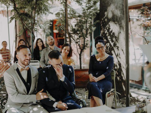 Il matrimonio di Salvatore e Gabriele a Milano, Milano 34
