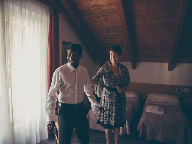 Il matrimonio di Arun e Margherita a Vezzano, Trento 4