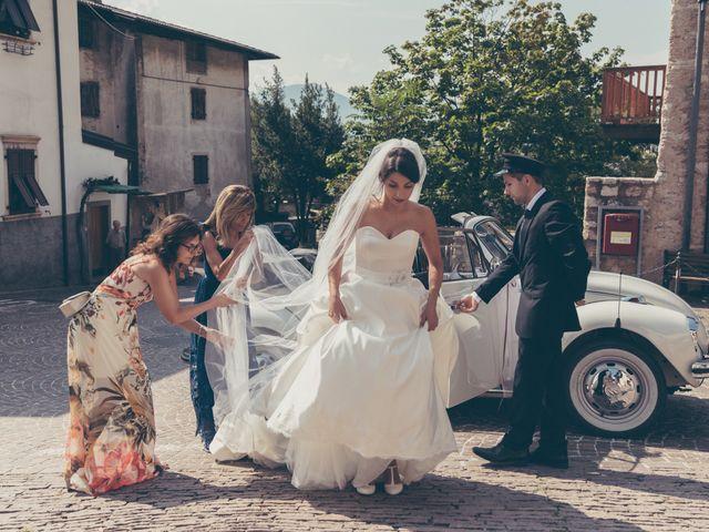 Il matrimonio di Arun e Margherita a Vezzano, Trento 20