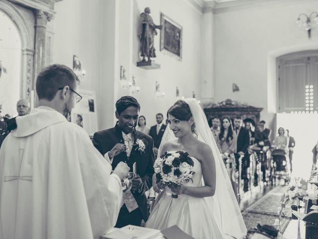 Il matrimonio di Arun e Margherita a Vezzano, Trento 25