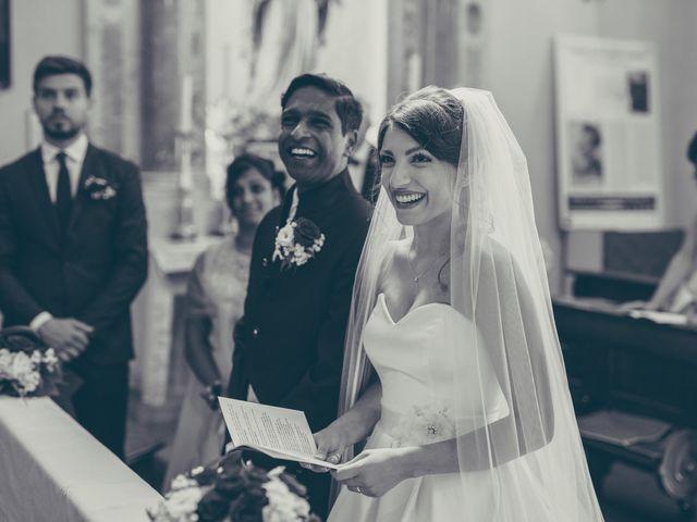 Il matrimonio di Arun e Margherita a Vezzano, Trento 27