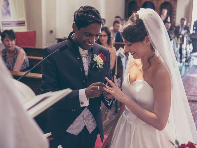 Il matrimonio di Arun e Margherita a Vezzano, Trento 28