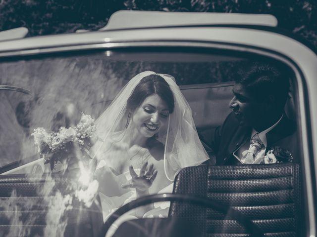 Il matrimonio di Arun e Margherita a Vezzano, Trento 32