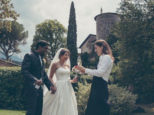Il matrimonio di Arun e Margherita a Vezzano, Trento 37