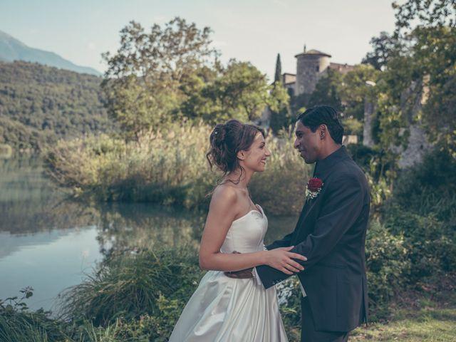Il matrimonio di Arun e Margherita a Vezzano, Trento 46